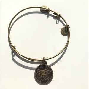 Alex and Ani Eye of Horus Bangle
